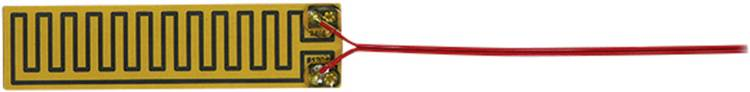 Thermo Polyester Verwarmingsfolie Zelfklevend 24 V/DC, 24 V/AC 4 W Veiligheidstype IPX4 (l x b) 135 mm x 35 mm