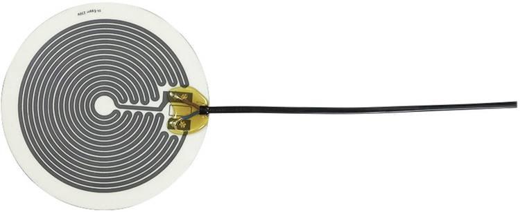 Thermo Polyester Verwarmingsfolie Zelfklevend 230 V/AC 4 W Veiligheidstype IPX4 (Ø) 140 mm