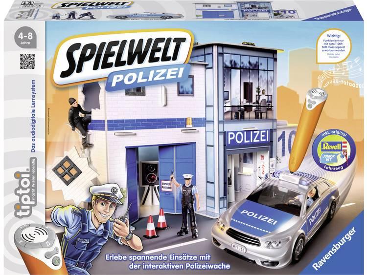 Ravensburger tiptoi speelwereld politie