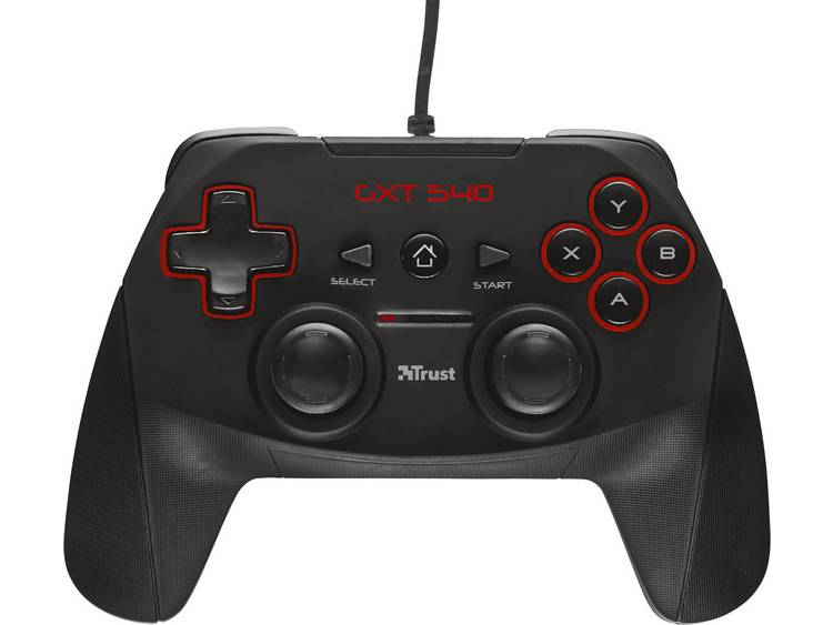 Trust GXT 540 Gamepad PC, PlayStation 3 Zwart