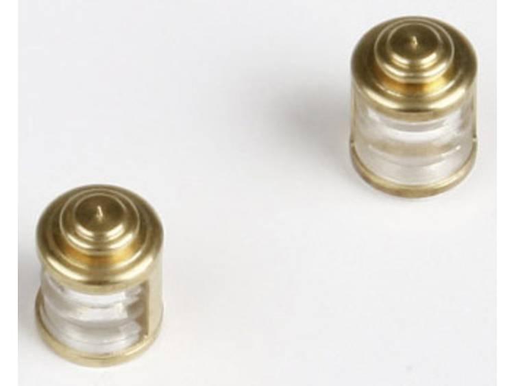 Lamp (helder) Graupner (Ø x h) 8 mm x 14.5 mm 2 stuks