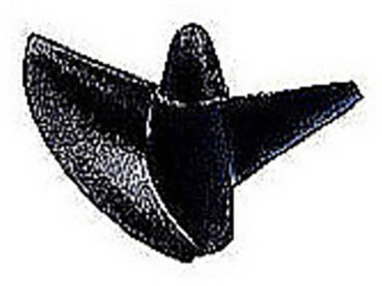 Graupner 2-blads Scheepsschroef Rechts Kunststof (koolstofversterkt) 33 mm Stijging: 53 mm M4