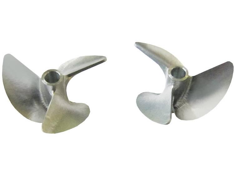 Graupner 3-blads Scheepsschroef Aluminium 40 mm