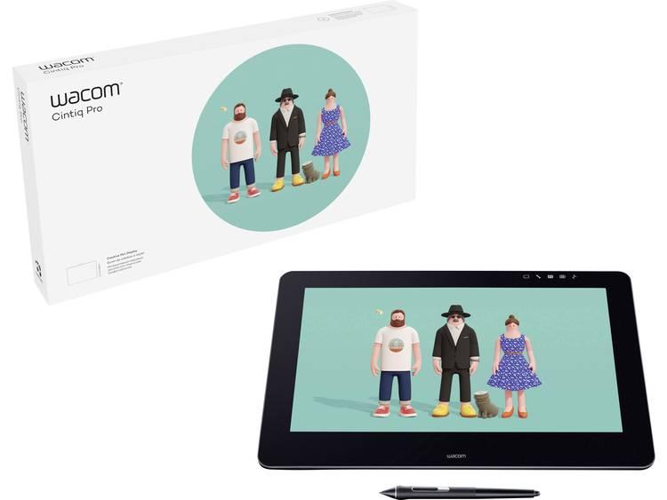 Wacom Cinitq Pro 16 UHD USB Grafisch tablet Zwart