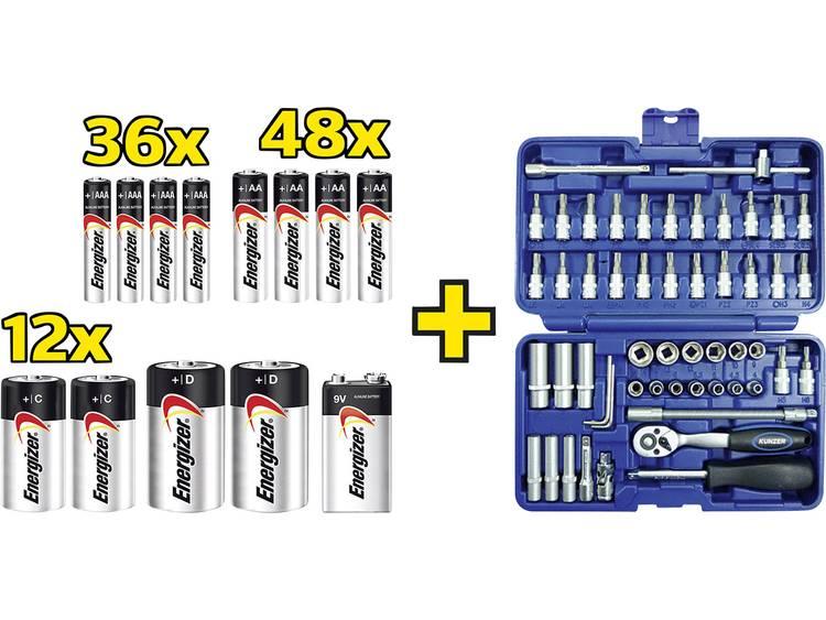 Energizer Max Mix Batterijset Alkaline 1.5 V 1 set