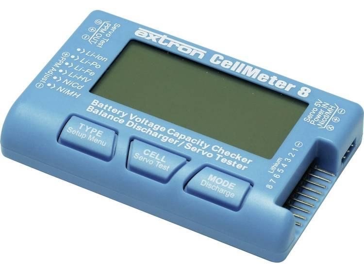 Battery Checker EXTRON Modellbau CellMeter 8 Stekkersysteem: EH, XH