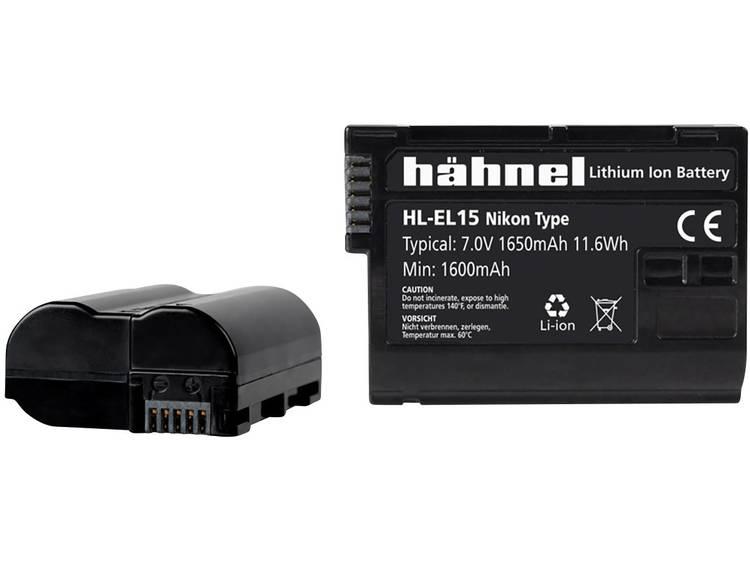 Hähnel HL-EL15 Camera-accu Vervangt originele accu EN-EL15 7 V 1650 mAh