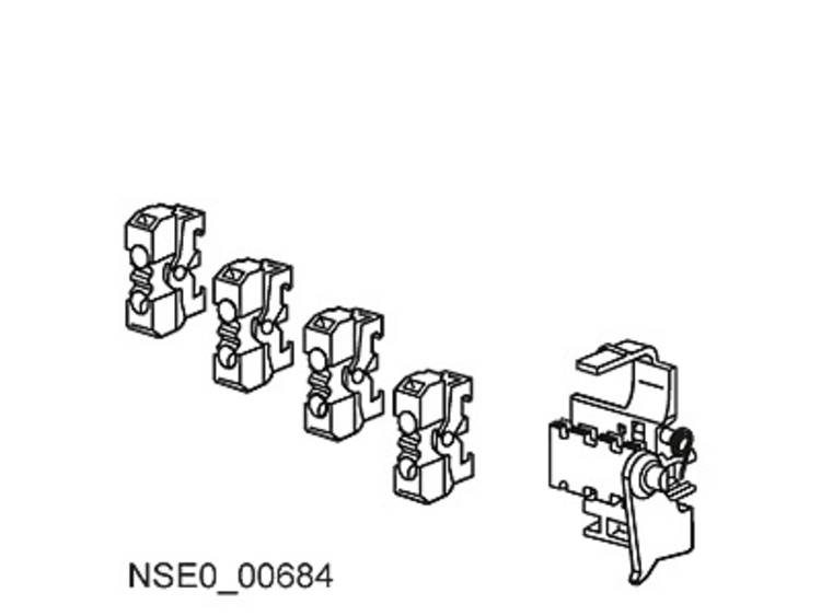 Hulpschakelaar Siemens 3VL9800-2AE00 1 stuks