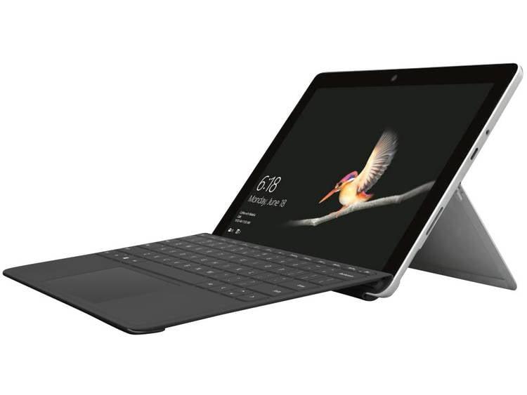 Microsoft Surface Go Windows-tablet 25.4 cm (10.0 inch) 64 GB WiFi Zilver Intel® Pentium® Gold 1.6 GHz Dual Core Windows 10 S
