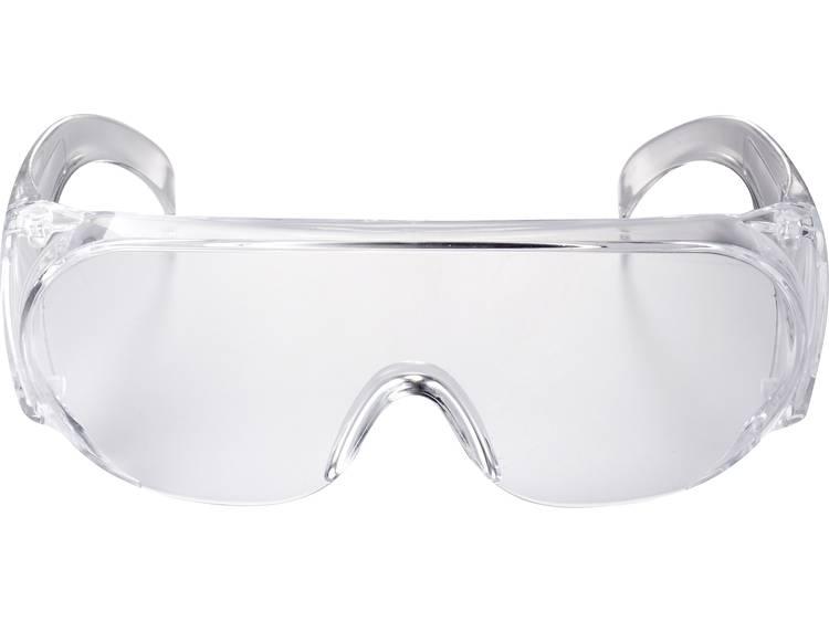 TOOLCRAFT TO-5343204 Veiligheidsbril Helder