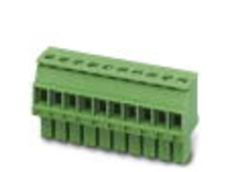 Phoenix Contact Busbehuizing-kabel MCVW Totaal aantal polen 11 Rastermaat: 3.5 mm 1862946 50 stuks