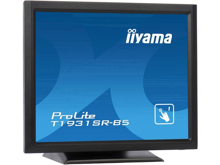 Iiyama ProLite T1931SR Touchscreen monitor 48.3 cm (19 inch) Energielabel A (A+++ – D) 1280 x 1024 pix SXGA DisplayPort, HDMI, VGA, Audio-Line-out