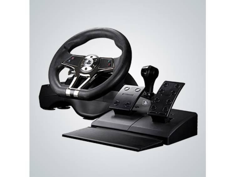 Stuur Sony R2GHURRICANEWHEEL USB PlayStation 3, PlayStation 4 Zwart Incl. pedaal