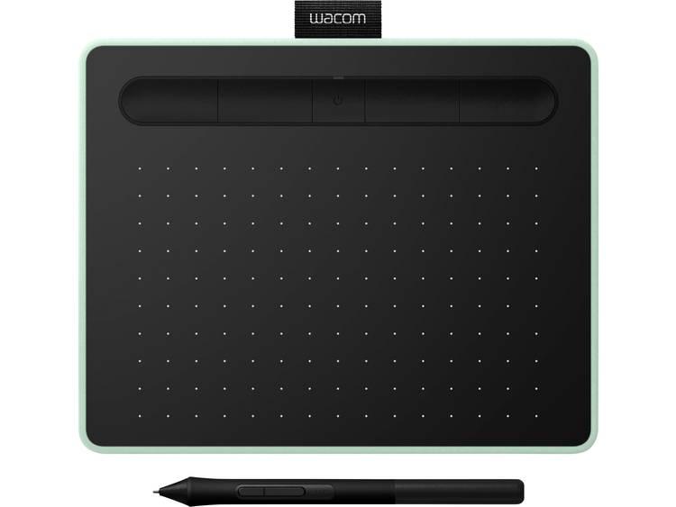 Wacom Intuos S (FR, ES, IT, NL) Bluetooth Grafisch tablet Zwart, Pistache