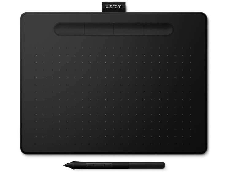 Wacom Intuos M (FR, ES, IT, NL) Bluetooth Grafisch tablet Zwart