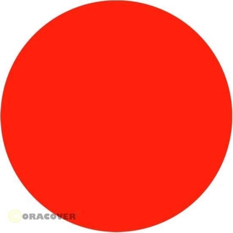 Sierstroken Oracover Oraline 26-064-006 (l x b) 15 m x 6 mm Rood-oranje (fluorescerend)