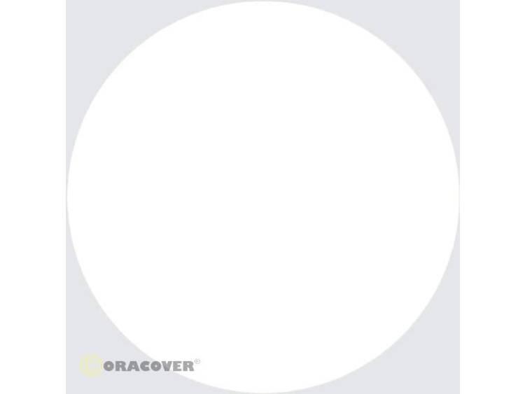 Sierstroken Oracover Oraline 26-210-006 (l x b) 15 m x 6 mm Schaal-wit