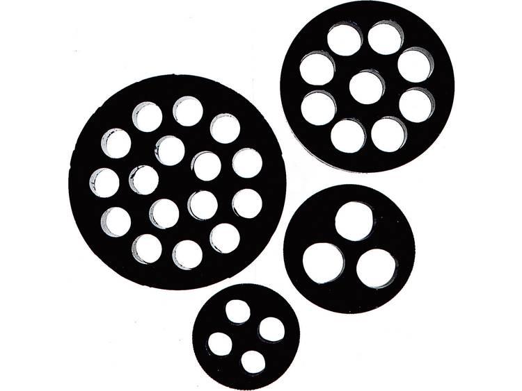Meervoudig dicht-inzetstuk M32 Nitril-butadieen rubber Zwart LAPP SKINTOP® DIX-M32 1 stuks