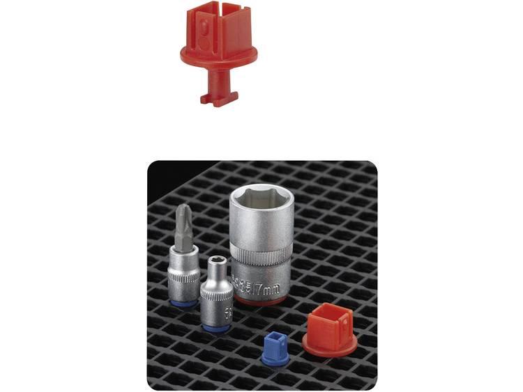 TOOLCRAFT 553947 Universele-Clip 1/2 (l x b) 25 mm x 20 mm 10 stuks