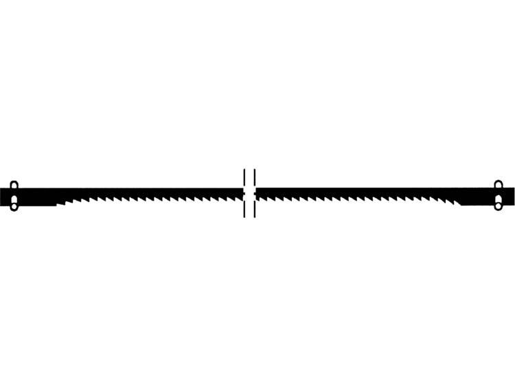 Proxxon Micromot 28743 12 stuks Figuurzaagblad met dwarsstift, normaal vertand 12st. Dunne materialen, hard en zacht hout en kunststof