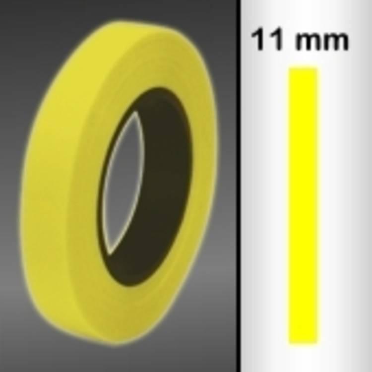 Sierstroken Oracover Oraline 26-039-011-M (l x b) 15 m x 11 mm Transparant geel
