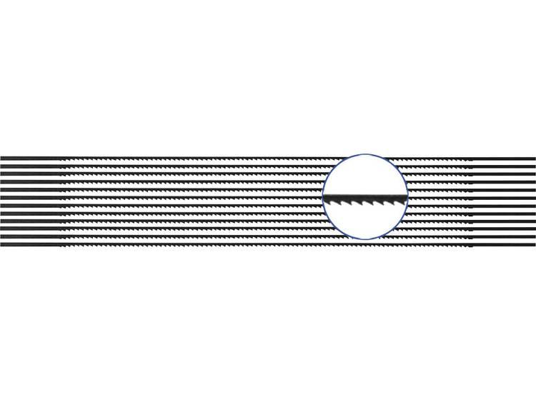 810440 12 stuks Figuurzaagblad voor zacht- en hardhout, kunststof, plexiglas verpakking van 12 stuks