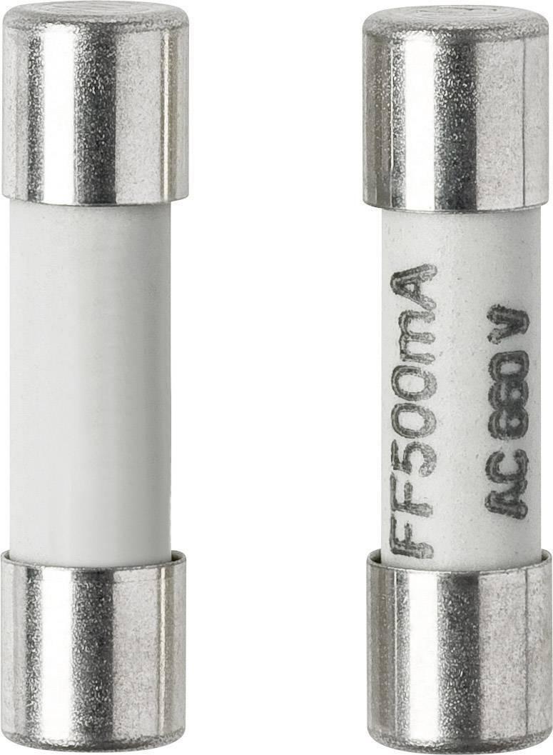 Pojistka pro multimetr Voltcraft, 500 mA, 5 x 20 mm