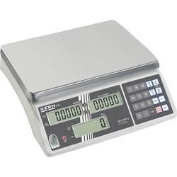 Počítací váha Kern Max. váživost 30 kg Rozlišení 2 g stříbrná