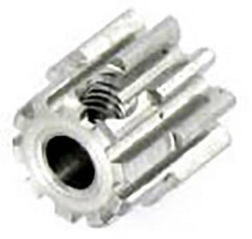 Pastorek motoru Modelcraft, 10 zubů, M0.8, otvor 3,2 mm