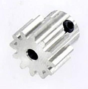 Ocelové ozubené kolo Modelcraft, 12 zubů, M1, otvor 3,2 mm
