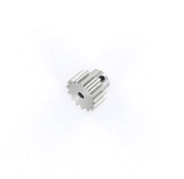 Ocelové ozubené kolo Modelcraft, 15 zubů, M1, otvor 3,2 mm