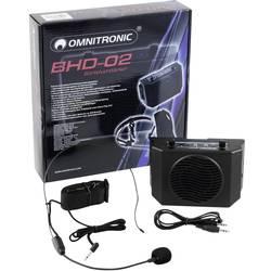 Mobilné PA reproduktory Omnitronic BHD-02, na batérie