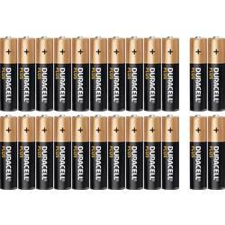 Alkalická baterie Duracell Plus, typ AAA, sada 20 ks + 4 zdarma