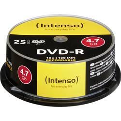 DVD-R 4.7 GB Intenso 4101154, 25 ks, vreteno