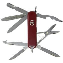 Švýcarský kapesní nožík Victorinox MiniChamp 0.6385, červená