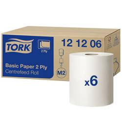 Papírové utěrky v roli TORK 121206, Karton