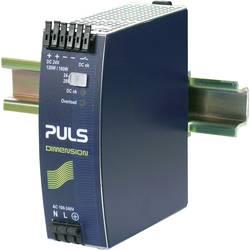Sieťový zdroj na montážnu lištu (DIN lištu) PULS DIMENSION QS5.241, 1 x, 24 V/DC, 5 A, 120 W