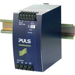 Sieťový zdroj na montážnu lištu (DIN lištu) PULS DIMENSION QT20.241, 1 x, 24 V/DC, 20 A, 480 W