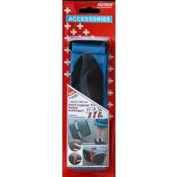 Pásek na kufr se suchým zipem Fastech 922-0426, modrá, 200 cm x 5 cm, modrá