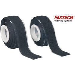 Lepiaci pásik so suchým zipsom FASTECH® 919-330 919-330, (d x š) 2000 mm x 25 mm, čierna, 1 pár