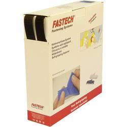 Samolepicí páska se suchým zipem Fastech B25-SKL999925, 25 m x 25 mm, černá, 25 m