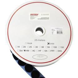 Zalepenie hotmelt guľatý suchý zips FASTECH® T02020999903C1, (Ø) 20 mm, čierna, 1 ks