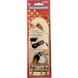 Pásek se suchým zipem FASTECH® 697-010, (d x š) 5000 mm x 20 mm, bílá, 5 m