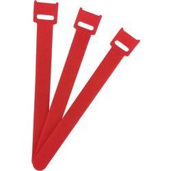 Káblový manažér na suchý zips FASTECH® ETK-3-150-1339, (d x š) 150 mm x 13 mm, červená, 1 ks