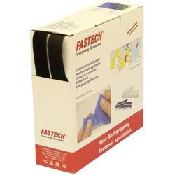 Zalepenie hotmelt pásik so suchým zipsom FASTECH® B20-SKL999910, (d x š) 10000 mm x 20 mm, čierna, 10 m