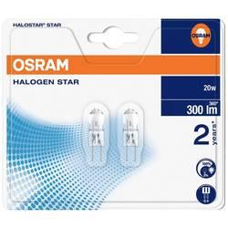 Halogénová žiarovka Osram, 12 V, 20 W, G4, 2000 h, 2 ks