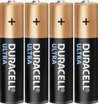 Duracell Ultra alkalická baterie AAA, sada 4 ks