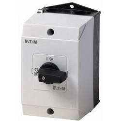 Silový vypínač Eaton T0-2-1/I1 207081, 20 A, 1 x 90 °, sivá, čierna, 1 ks