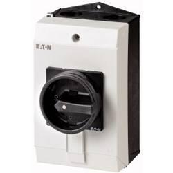 Silový vypínač Eaton P1-25/I2/SVB-SW/HI11 207295, 25 A, 690 V, 1 x 90 °, čierna, 1 ks