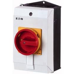 Silový vypínač Eaton T0-1-102/I1/SVB, 20 A, 690 V 1 x 90 °, žlutá, červená, 1 ks